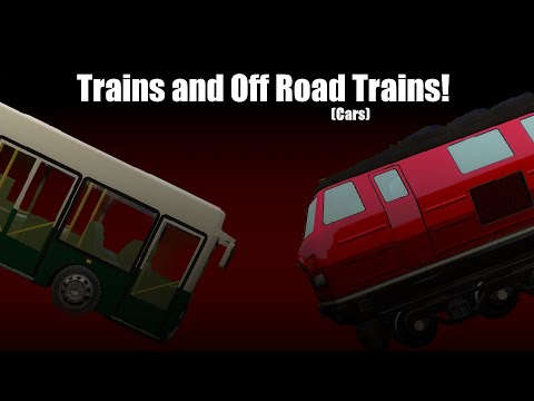 GMOD: Trains and Cars!