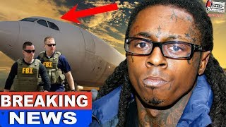Feds AMBUSH Lil Wayne's Private Jet, He Faces Potential Serious Charges For What They Found?!?!