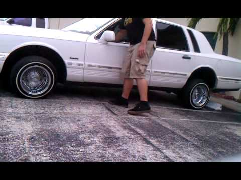 97 Lincoln Towncar Lowrider Youtube