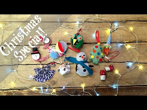 Christmas Ornaments Crafts.Christmas Crafts 10 Easy Ornaments Diy With Incredibusy