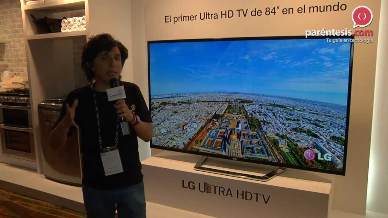 televisi243n inteligente ultra hd de 84 pulgadas de lg llega
