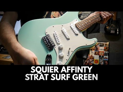 Squier By Fender Affinity Stratocaster Surf Green Review