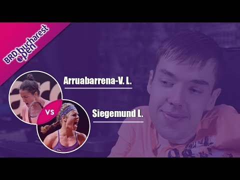 Arruabarrena-V. L. - Siegemund L. | 2019 Bucharest Open | WTA