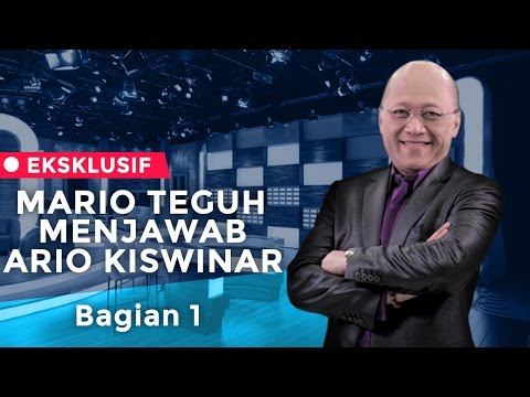 Mario Teguh Menjawab Ario Kiswinar (Bag. 1)