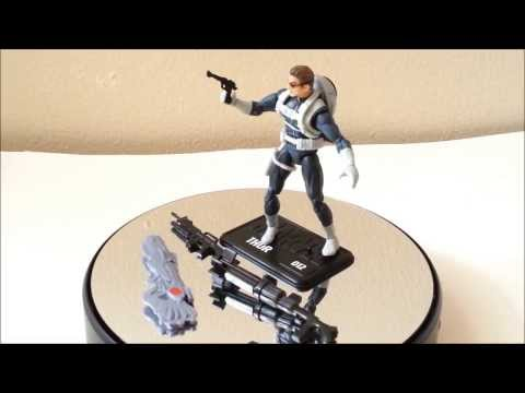 Marvel Universe Nick Fury action figure review (hasbro)