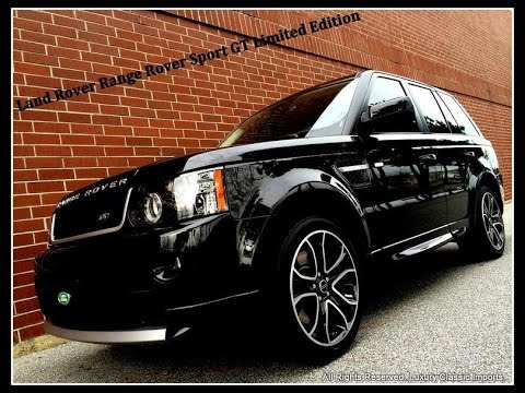 2013 land rover range rover sport gt limited edition youtube. Black Bedroom Furniture Sets. Home Design Ideas