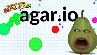 Pear Plays - Agar.io #3: Double Pear Across the Sky