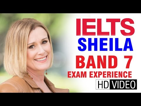 IELTS Cast Sheila Band 7  In Philippines