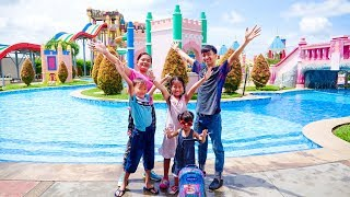 Nora Enjoys Time with Family at Water Park