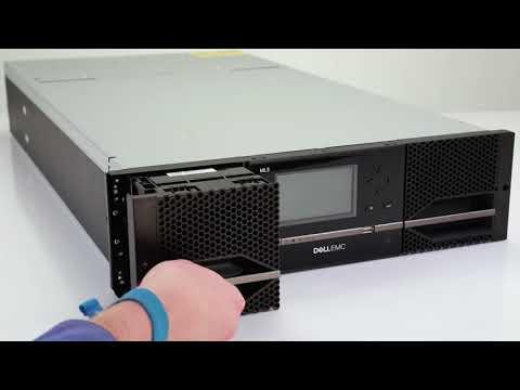 Dell Storage ML3: Magazine Manual Eject