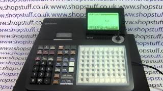 Casio SE-C450 Cash Register Instructions How To Program Products