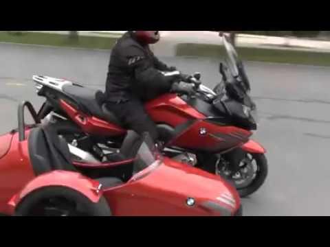 Мотоцикл BMW k1600 gt c коляской