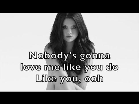 Selena Gomez - Nobody Karaoke Acoustic Guitar Instrumental Cover Backing Track + Lyrics