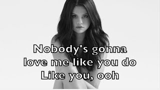 Selena Gomez - Nobody Karaoke Acoustic Guitar Instrumental Cover Backing Track + Lyrics