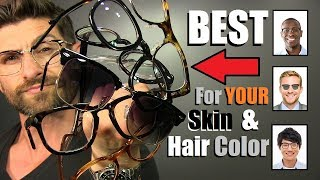 How To Choose The BEST Sunglasses & Frames For Your SKIN Tone & HAIR Color