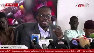 Démission ou limogeage du Général Tine, les allégations et accusations de SONKO
