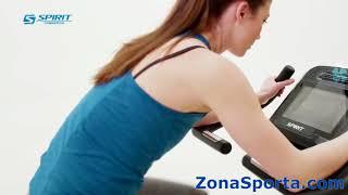 Велотренажер Spirit Fitness CU900 ENT. Обзор