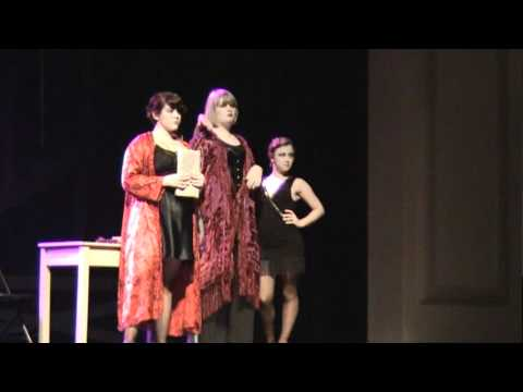 """Iowa City High School Chicago The Musical """"Be Good To Mama"""" Miriam Thoe and Co"""