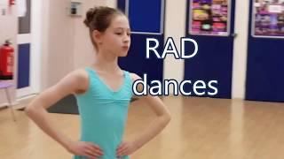 Grade 4 dance preparations for ballet exam (RAD)