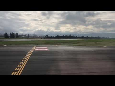 Departing Bogota, Colombia, 2x speed