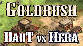AoE2 DE Goldrush! DauT vs Hera!