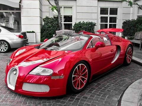 2011 Bugatti Veyron Grand Sport Red Edition Youtube