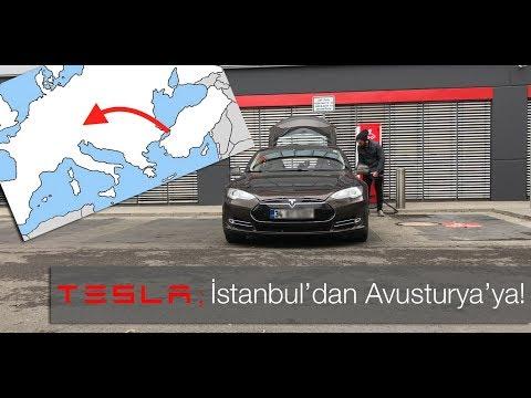 Elektrikli Macera: Tesla ile İstanbul'dan Avusturya'ya!