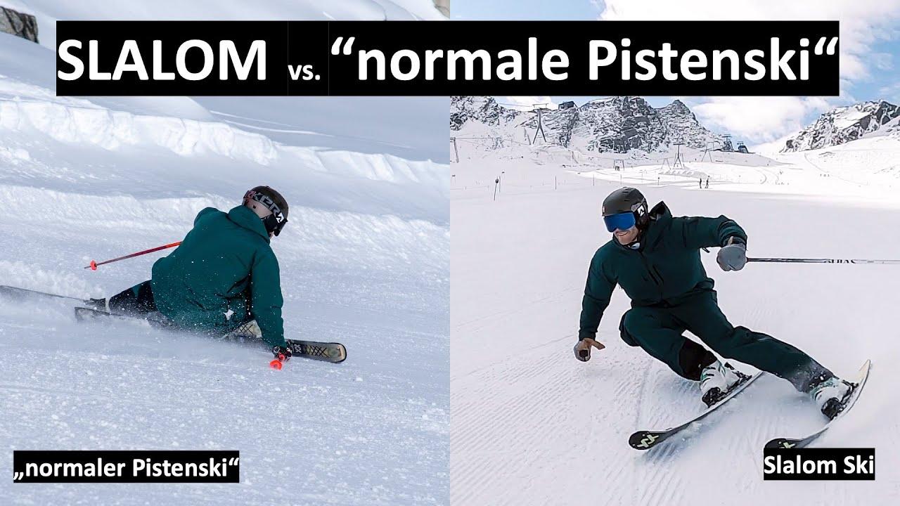 SLALOM vs. 'andere Pistenski' - lohnt sich ein Slalom Ski für DICH?