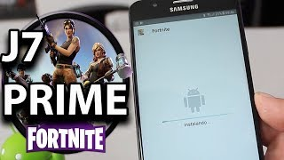 FORTNITE HACKED APK 10.10!!! play at j7 prime!!