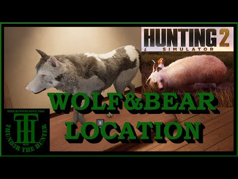 Easy Wolf and Bear Hunting Location ;Hunting Simulator 2 [PC] |