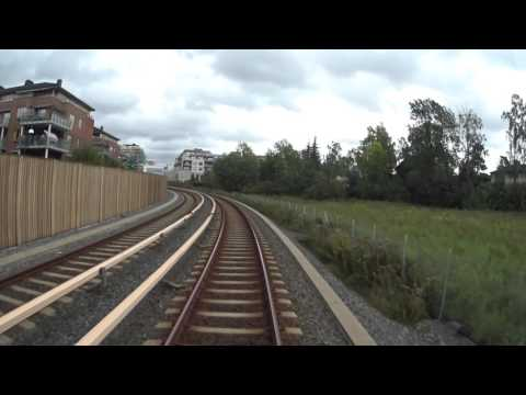Cabview Line 3 west-east Oslo metro / Oslo T bane / MX3000 full ride