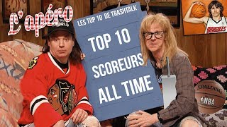Top 10 meilleurs scoreurs All-Time