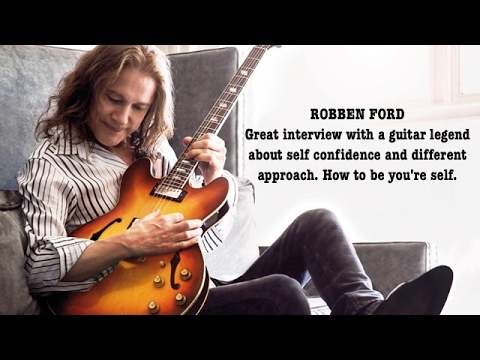 Robben Ford interview - Lesson in life