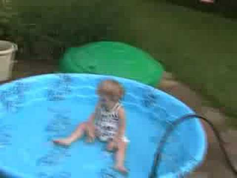 Baby Pool Swimming In Clothes Youtube
