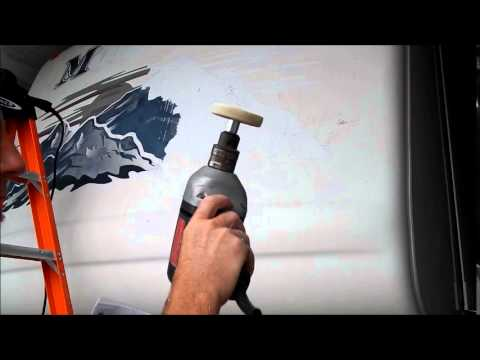 Rv Decal Removal Part 4 Using The 3m Eraser Tool To