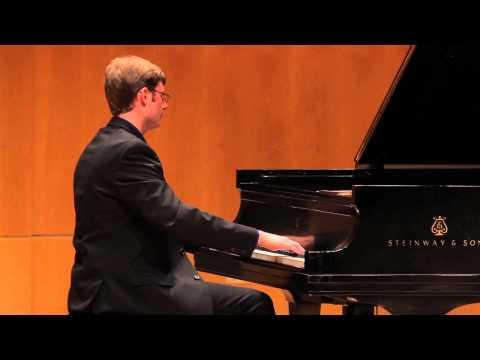 SHOSTAKOVICH Preludes, Op. 34: 19. Andantino in E flat major -  Zack Henderson, piano - 2013