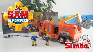 Sam le pompier - Le camion deluxe Jupiter avec lance à eau
