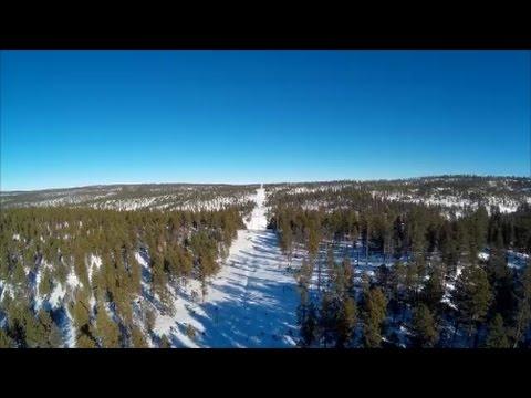 Black Hills Snowmobiling Jan  2017