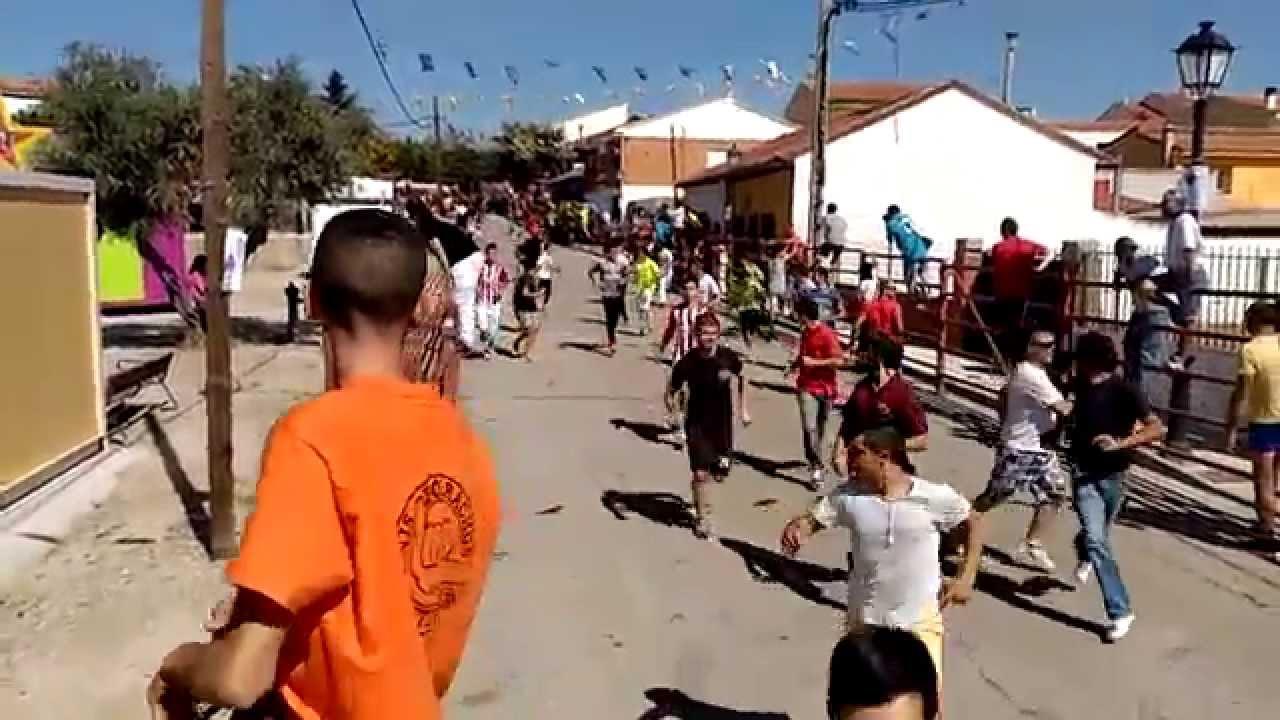 Encierros navas del rey 2015 youtube - Pavimarsa navas del rey ...