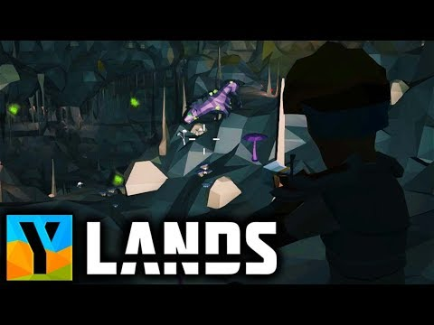 Ylands - ALPHA HYENAS Guarding All The YLANDIUM & TREASURE in the CAVE!  Ylands Gameplay Part 12