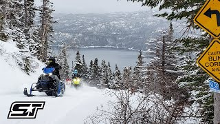 THE MOST AMAZING NEWFOUNDLAND SNOWMOBILE ADVENTURE