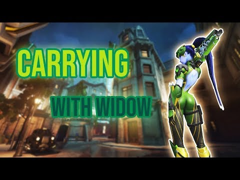 SoOn OW - CARRYING with WIDOW ! #X [FR/EN]