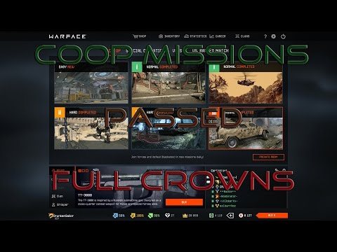 Warface - COOPs by *PVE-BEASTS* 1