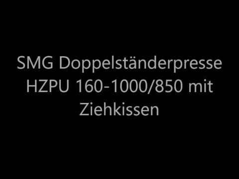 SMG SMG HZPU 160-1000/850 Double Column Press