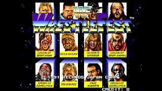WWF Wrestlefest Gameplay