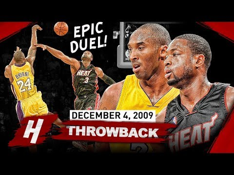 The Game Kobe Bryant Got His Revenge On Dwyane Wade, EPIC SG Duel Highlights 2009.12.04 - MUST WATCH