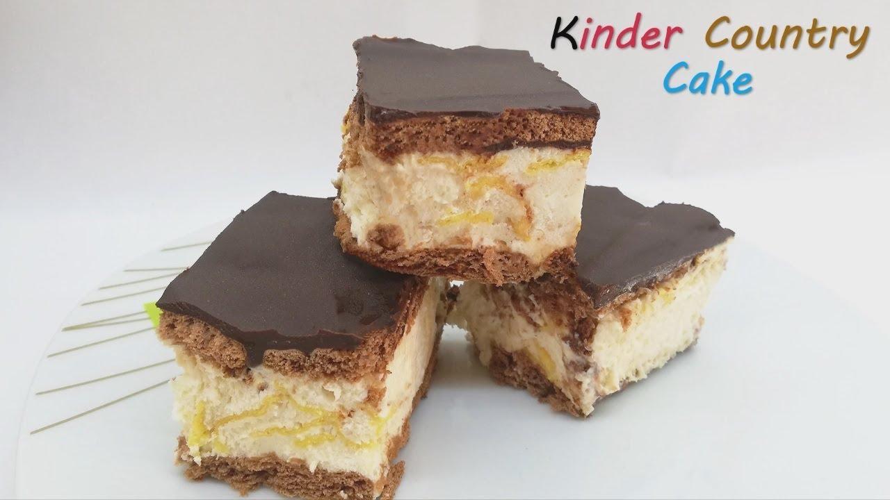 Kinder Country Cake (no bake)