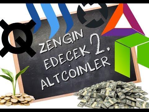 Zengin Edecek Altcoin Ler 2; Bu Altcoinler E Elimiz Mahkum..