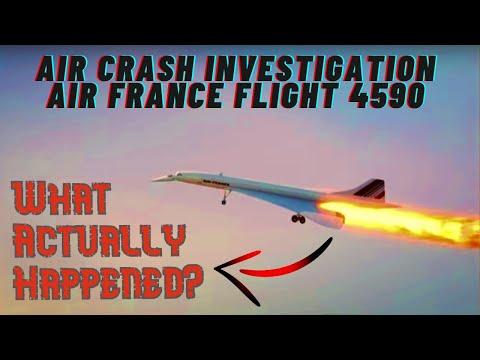 Air Crash Investigation Air France Flight 4590