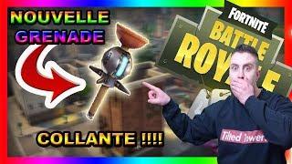TEST LA GRENADE COLLANTE A 10H FORTNITE BATTLE ROYALE [FR/PS4/LIVE]